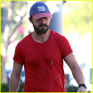 Shia Labeouf Sports Some Scruff While Out in Beverly Hills
