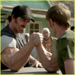 Skittles Super Bowl Commercial 2015 - Settle It with Muscles!