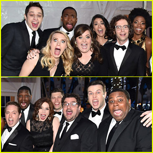 'SNL' Current Cast Walks 40th Anniversary Red Carpet