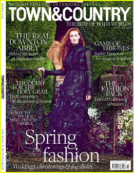 Sophie Turner Talks All Things 'Game Of Thrones' For 'Town & Country' Mag