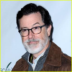 Stephen Colbert Debuts an Impressive Greying Beard