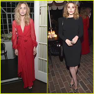 Suki Waterhouse Rocks Out & Lip Syncs To Pink Before Pre-Oscar Party