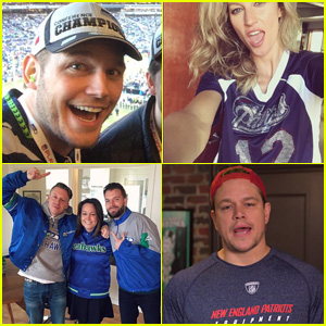 Super Bowl 2015: Who Are Celebs Rooting For - Patriots or Seahawks?