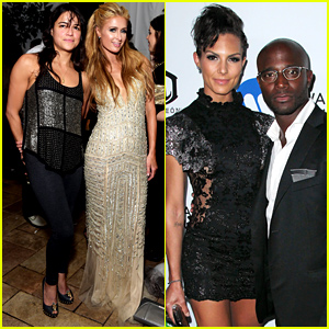 Michelle Rodriguez, Taye Diggs & More Party with Warner Music Group at Grammys 2015 After Party!