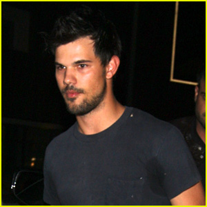 Taylor Lautner Parties with Pals After Kristen Stewart Reunion