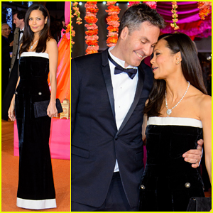 Thandie Newton Supports Hubby Ol Parker at 'Second Best Exotic Marigold Hotel' World Premiere!