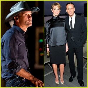 Tim McGraw & Wife Faith Hill Party It Up Before the Oscars!