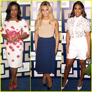 Uzo Aduba & Laverne Cox Wow at 'Essence' Black Women in Hollywood Luncheon