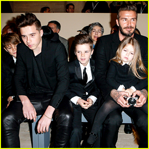 Victoria Beckham's Family Supports Her NYFW Fashion Show!