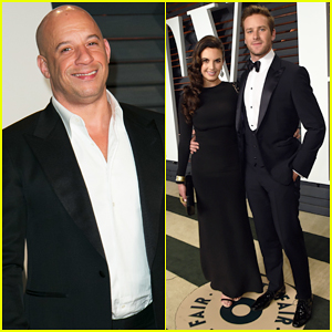 Vin Diesel Joins Armie Hammer & Wife Elizabeth Chambers at Oscars After Party!