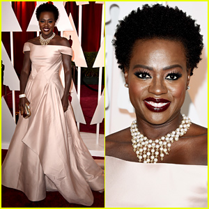 Viola Davis Goes Glam for the Oscars 2015