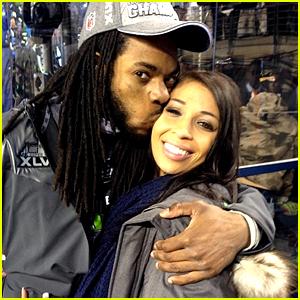 Will Richard Sherman's Girlfriend Give Birth During Super Bowl?