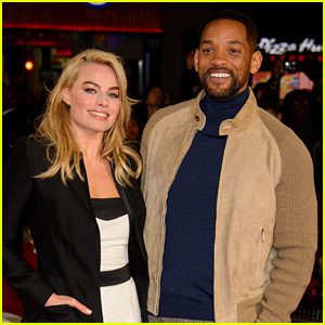 Will Smith & Margot Robbie Offer Up Info About 'Suicide Squad'