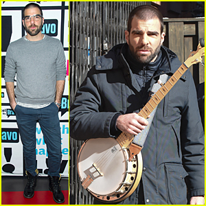 Zachary Quinto Dishes On His 'I Am Michael' Threesome Sex Scene - Watch Now!