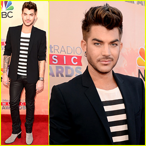 Adam Lambert Makes His Arrival to the iHeartRadio Music Awards!