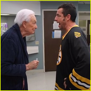 Adam Sandler & Bob Barker Recreate Their 'Happy Gilmore' Fight in Funny Video - Watch Now!