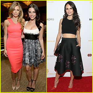 AnnaLynne McCord & Jessica Lowndes Have '90210' Reunion in Beverly Hills
