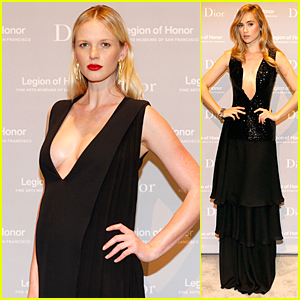 Anne V Accentuates Growing Baby Bump at Mid-Winter Gala 2015