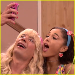 Ariana Grande Shows Off Her Vocal Skills During 'EW!' with Jimmy Fallon