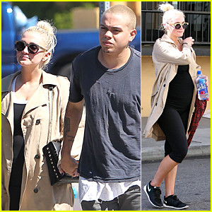 Ashlee Simpson Satisfies Her Pregnancy Cravings After Routine Workout