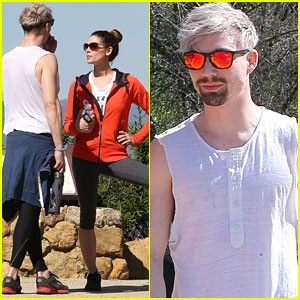 Ashley Greene Hikes The Hollywood Hills With Joseph Chase