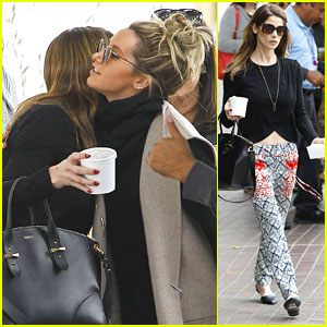 Ashley Greene Meets Up With Ashley Tisdale For Lunch