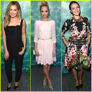 Ashley Tisdale & Italia Ricci Are Super Chic for Ted Baker London