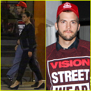 Ashton Kutcher & Mila Kunis Leave Baby Wyatt At Home For Their Date Night