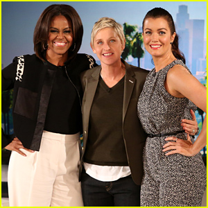 Scandal's First Lady Bellamy Young Meets the Real First Lady Michelle Obama!