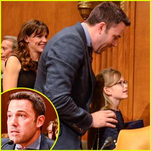 Ben Affleck & Jennifer Garner Bring Daughter Violet to Congressional Testimony in D.C.