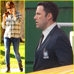 Ben Affleck Suits Up for 'The Accountant' With John Lithgow