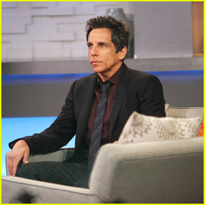 Ben Stiller Continues Promo Tour for 'While We're Young'