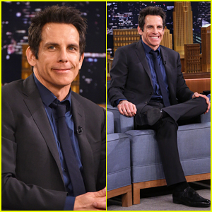 Ben Stiller Talks 'Zoolander 2' & Plays 'Emotional Interview' with Jimmy Fallon on 'The Tonight Show' - Watch Here!