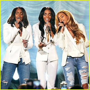 Beyonce Has a Destiny's Child Reunion for 'Say Yes'! (Video)