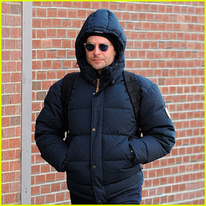 Bradley Cooper is Back in Chilly NYC After Hitting Up the Oscars with Suki Waterhouse
