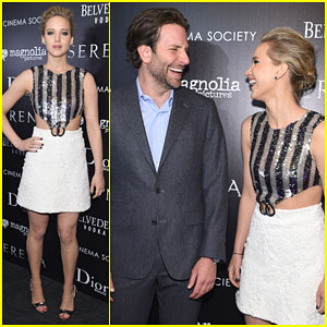 Jennifer Lawrence & Bradley Cooper Can't Stop Laughing at 'Serena' Screening