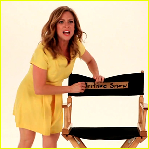 Brittany Snow Fired from Lipton TV Spot for Not Being Bubbly!