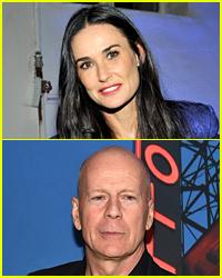 Demi Moore & Bruce Willis Reunite for Rumer Willis' 'DWTS' Debut