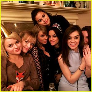 Selena Gomez & Taylor Swift Celebrate Camila Cabello's Birthday at Girls' Night With Hailee Steinfeld, Jaime King, & More!