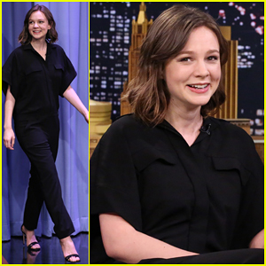Carey Mulligan Talks Cooking Spaghetti Bolognese in 'Skylight' Every Night on 'The Tonight Show' - Watch Here!