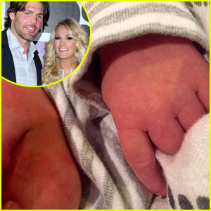 Carrie Underwood & Husband Mike Fisher Welcome Baby Boy Isaiah Michael!