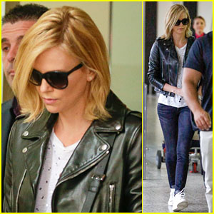 Charlize Theron's Travel Style is On Point