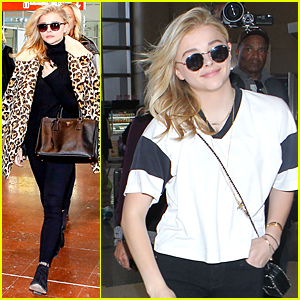 Chloe Moretz Makes a Wild & Fierce Landing in Paris
