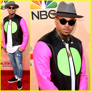 Chris Brown Is Ready for the iHeartRadio Music Awards 2015