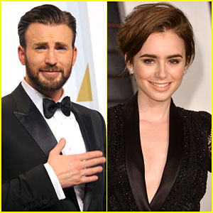 Chris Evans Dating Lily Collins (Report)