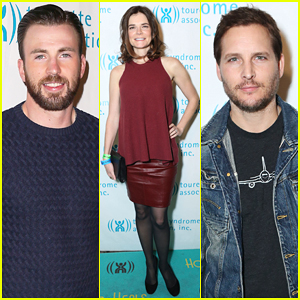 Chris Evans, Peter Facinelli, & More Put the Spotlight On Tourette Syndrome at Hollywood Heals Event!