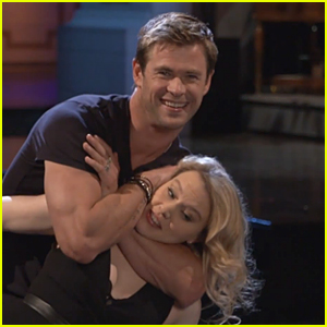 Chris Hemsworth Fails at 'Dirty Dancing' Lift in 'Saturday Night Live' Promo - Watch Now!