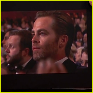 Chris Pine Explains Shedding a Single Tear at the Oscars 2015