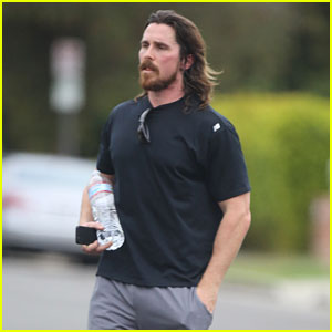 Christian Bale Keeps Up His Fitness Regimen Before 'Jungle Book' Filming