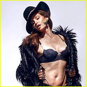 Cindy Crawford's Viral Bikini Photograph Reportedly a Fake